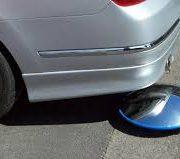 vehicle under search mirror
